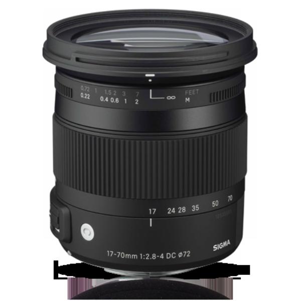 Bilde av Sigma 17-70mm f2.8-4 contemporary Canon