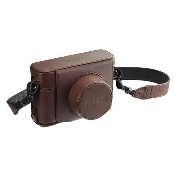 Bilde av Fujifilm  X100F Leather Case Brown