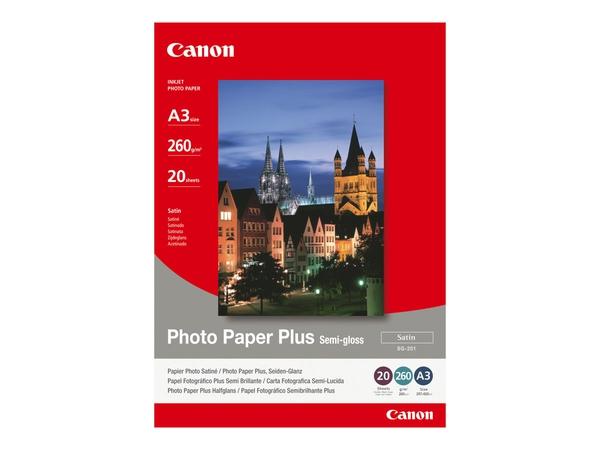 Bilde av CANON SG-201 photopaper A3 20pages