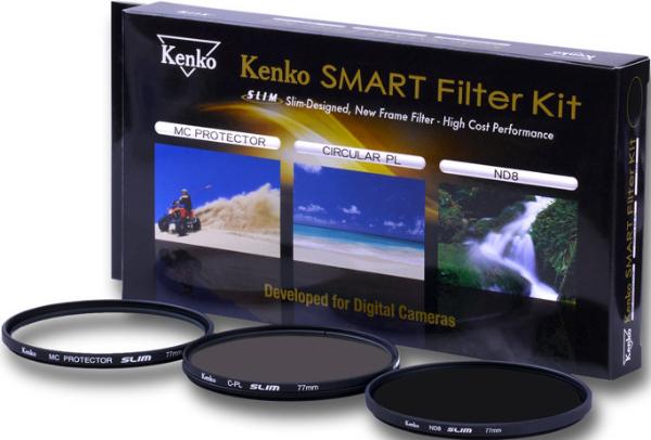 Bilde av Kenko Smart Filter 3-Kit Protect/CPL/ND8 43mm