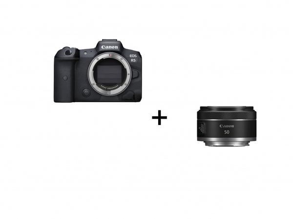 Bilde av Canon Eos R5 + RF 50mm F1,8 STM