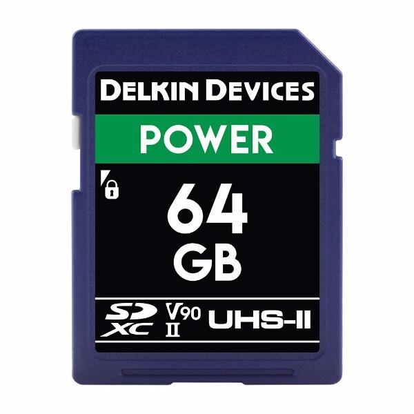 Bilde av Delkin Power SDHC Class 10 UHS-II U3 V90 2000x