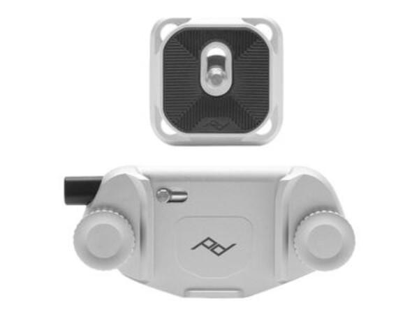 Bilde av Peak Design Capture Camera Clip v3 med plate Sølv