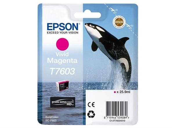 Bilde av Epson T7603 Vivid Magenta
