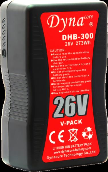 Bilde av DYNACORE V-Mount Battery DHB-300 273Wh 26V