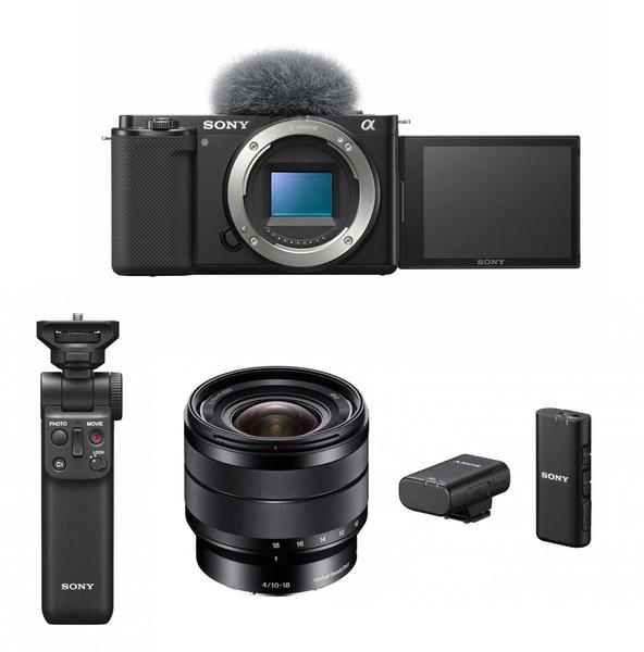 Bilde av Sony ZV-E10 + 10-18mm + mic og grep