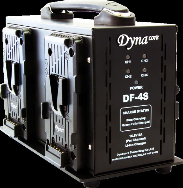 Bilde av DYNACORE DF-4S V-Mount Battery Fast Charger