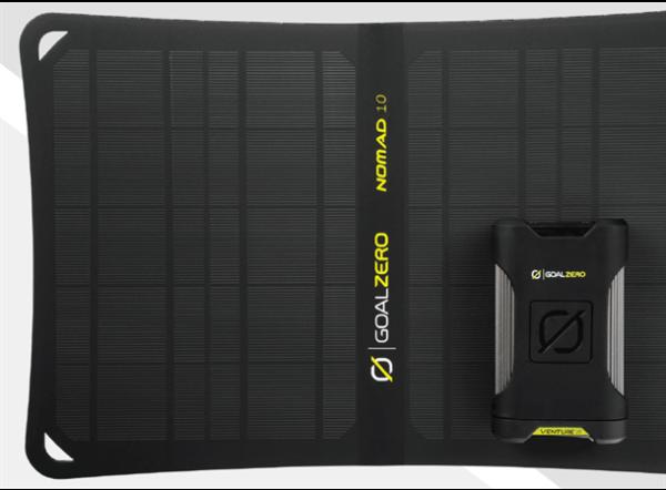 Bilde av Goal Zero Venture 35 Solar Kit