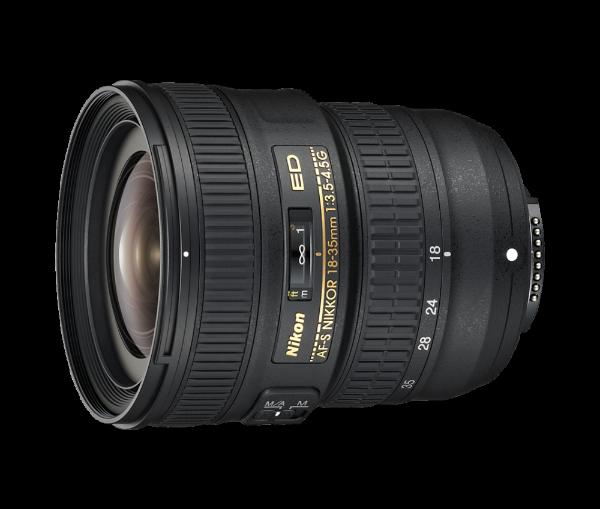 Bilde av Nikon Nikkor AF-S 18-35/3,5-4,5 G ED