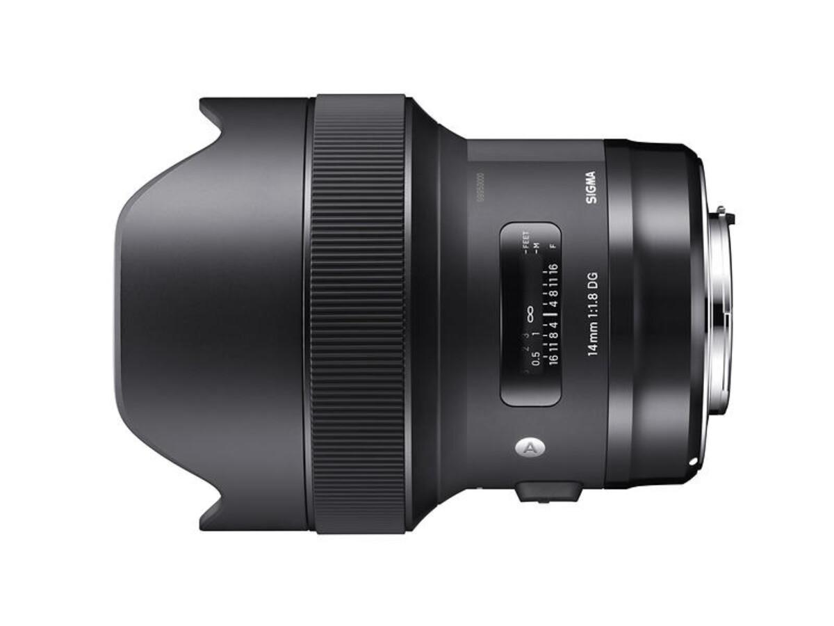 Sigma 14/1.8 DG HSM Art for Sony E brukt