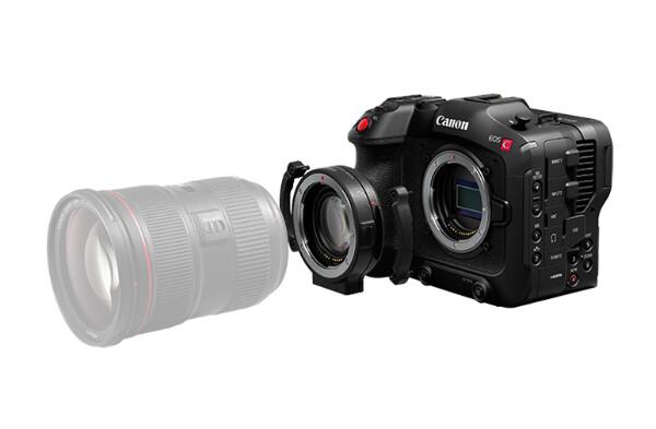 Bilde av Canon C70 + Canon EF fatningsadapter