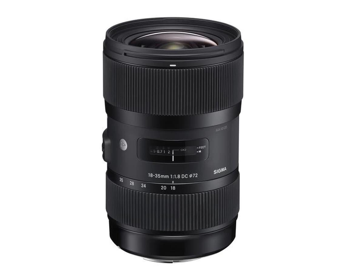 Sigma 18-35/1.8 DC HSM Art for Nikon brukt