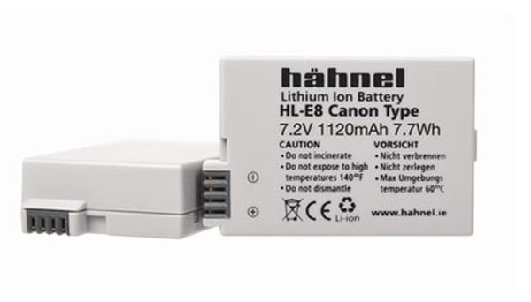 Bilde av Hähnel Batteri Canon HL-E8