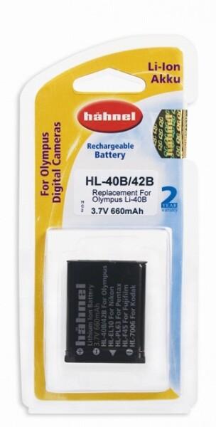 Bilde av Hähnel Batteri Olympus HL-40B/42B