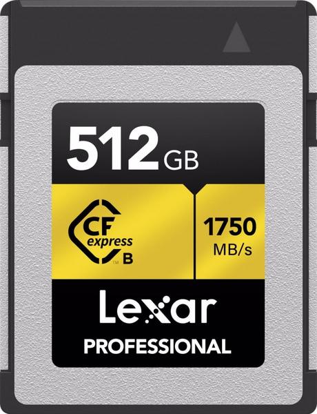 Bilde av LEXAR PRO CFexpress R1750/W1000 512GB