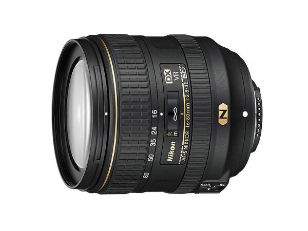 Bilde av Nikon Nikkor AF-S DX 16-80/2,8-4,0 E ED VR