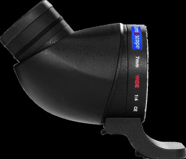 Bilde av Lens2scope 7mm Sony A, Black Angled