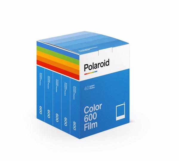 Bilde av POLAROID Color Film 600 40 pk.