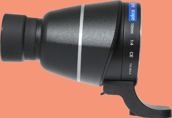 Bilde av Lens2scope 10mm Nikon F, Black Straight
