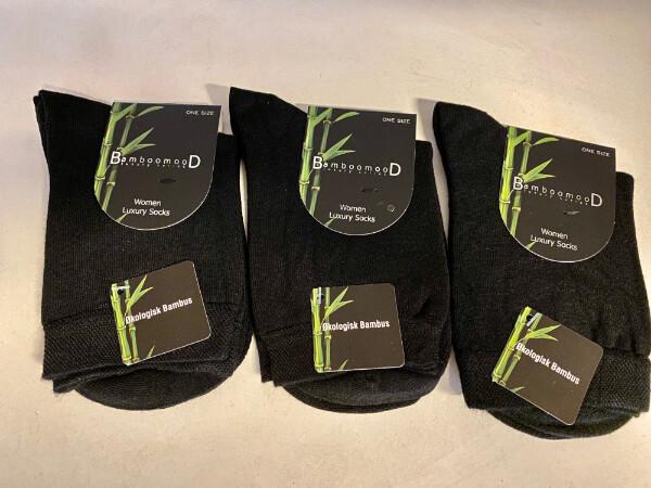Bilde av 3 pack Luxury Bambus sokker Dame