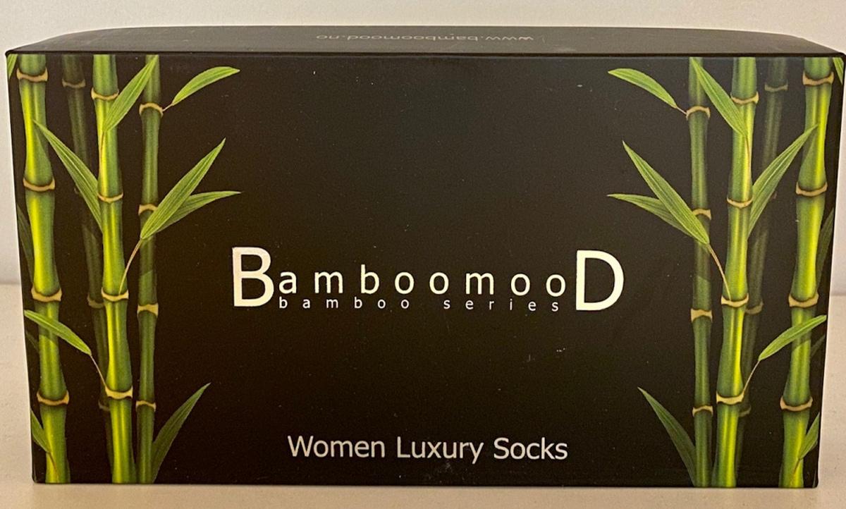 3 pack Luxury Bambus sokker Dame