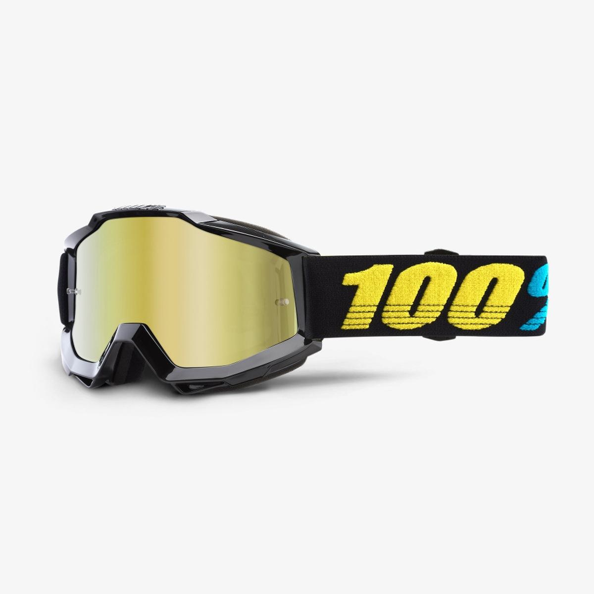 100% ACCURI JR Virgo Goggles - Gold Mirror Lens
