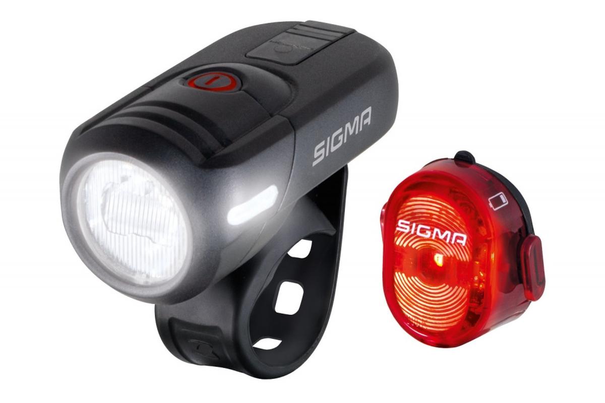 Sigma Sport Aura 45 + Nugget ll StVZO Lyssett
