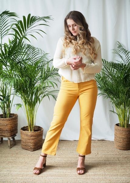 Bilde av Basic Apparel - Ellen Jeans - Apple Cinnamon