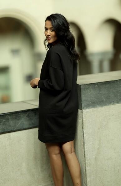 Bilde av Part Two - Lilies Dress - Black