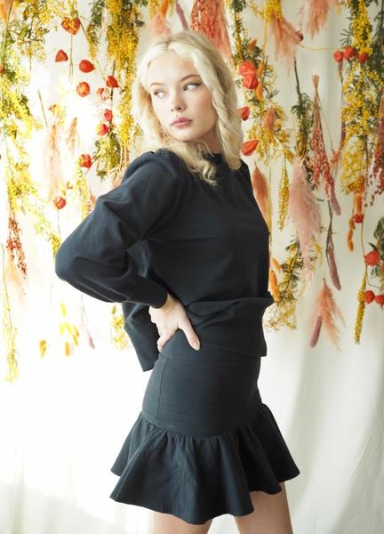 Bilde av Ella&Il - Ginger skirt - Navy