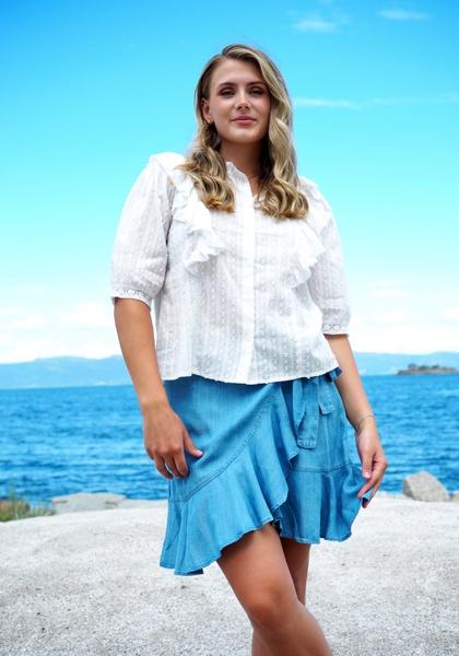 Bilde av MISSMAYA - Silje Blouse - Cream