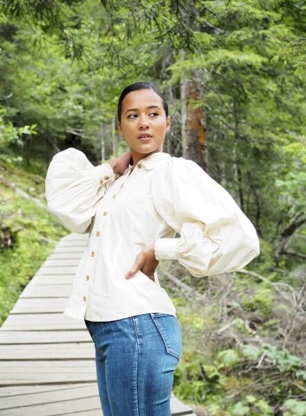 Bilde av By TiMo - 50's Cotton Shirt - Vintage