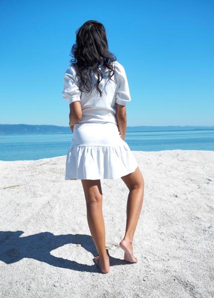 Bilde av Part Two - Janisa Skirt - Bright White