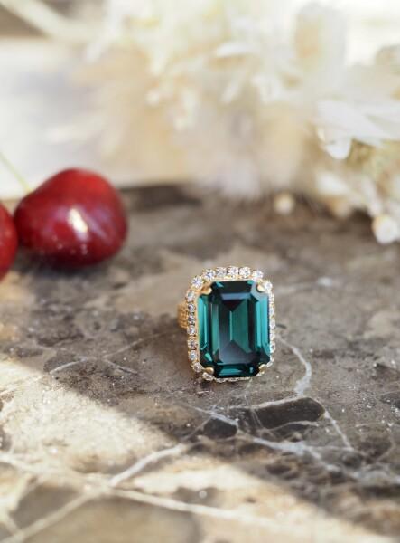 Bilde av Caprice Decadent - Diana Ring - Emerald
