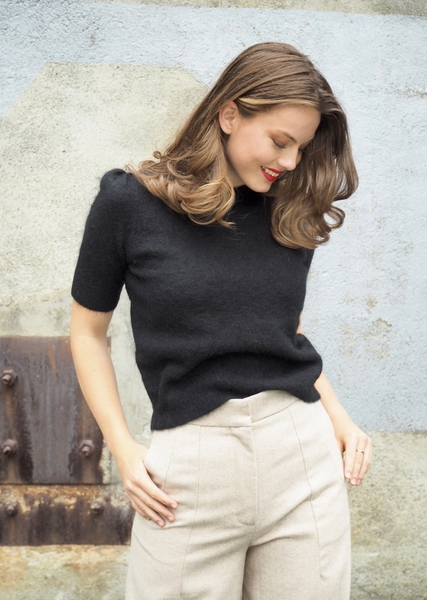 Bilde av Cathrine Hammel - Soft Sweater w/ Short Sleeve -