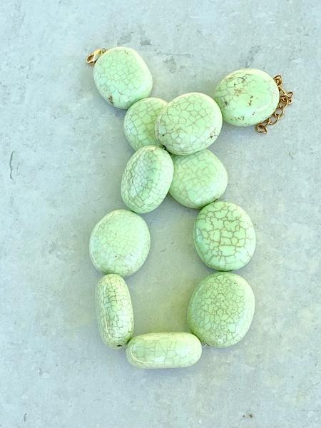 Bilde av Caprice Decadent - Chunky Necklace - Light Green