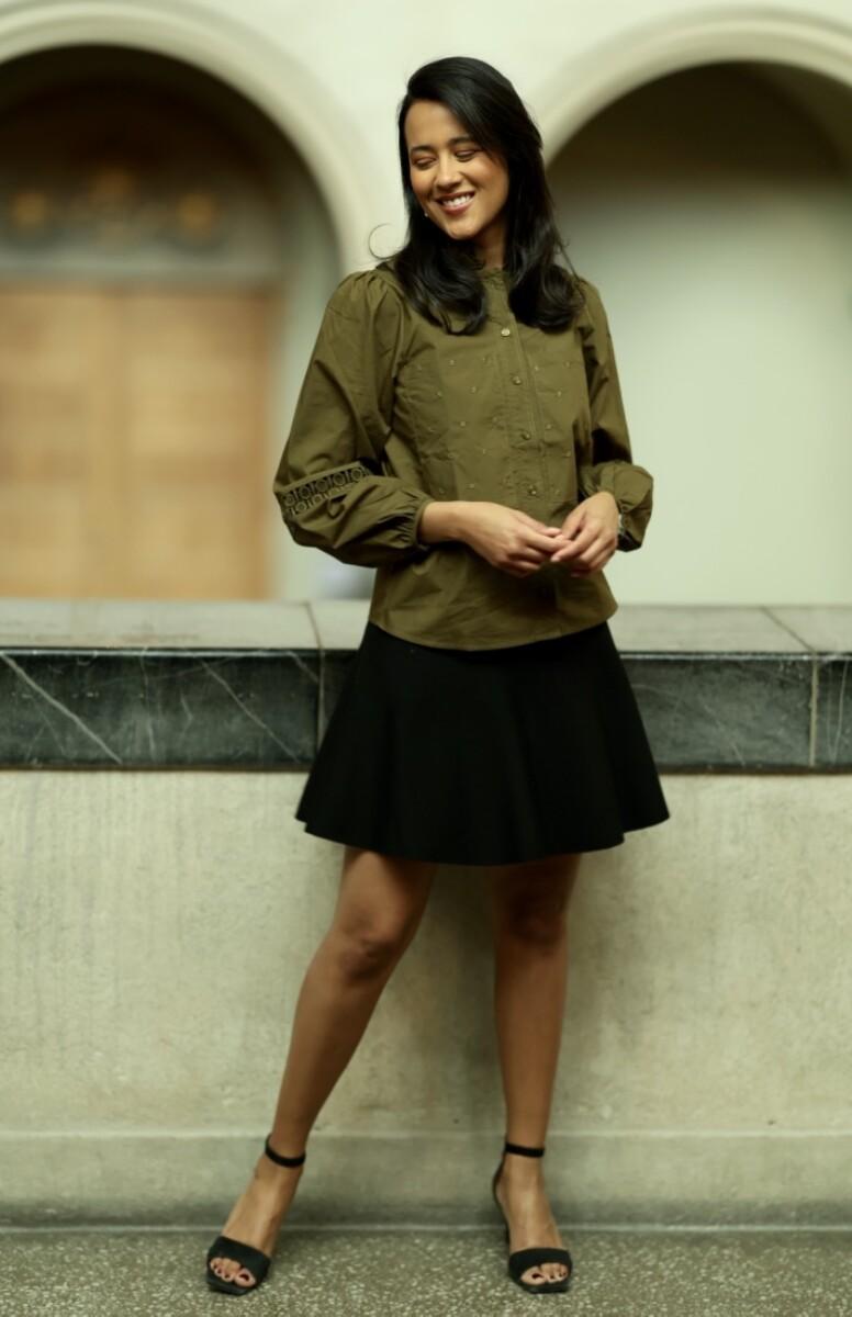 A View - Tiffany Shirt - Army
