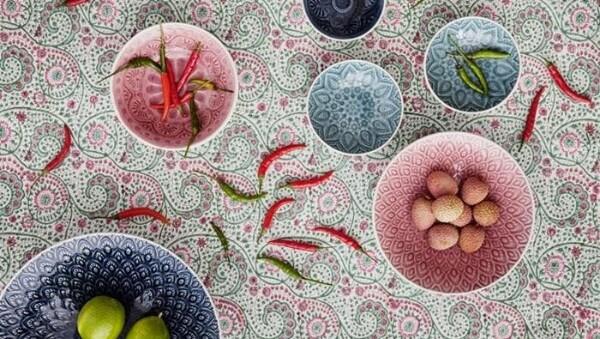 Bilde av Oval Dish Small - Chloe Rose Light