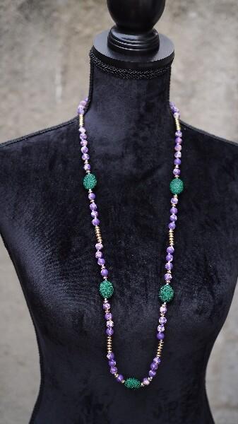 Bilde av Nectar - 5th Avenue necklace - Purple