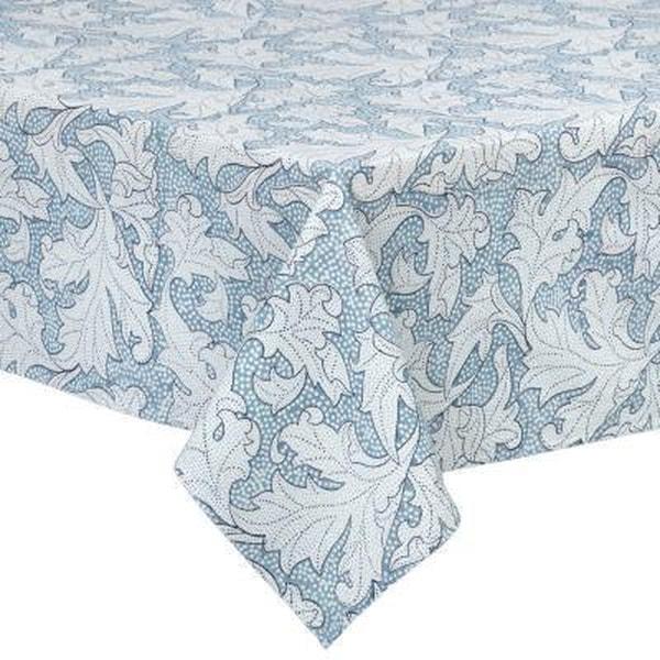 Bilde av Duk - Flora Dusty Blue - 180 x 300 cm