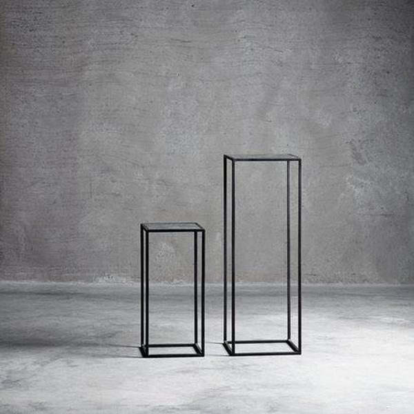 Bilde av TineK Home - Pidestaller med speil - sett med 2