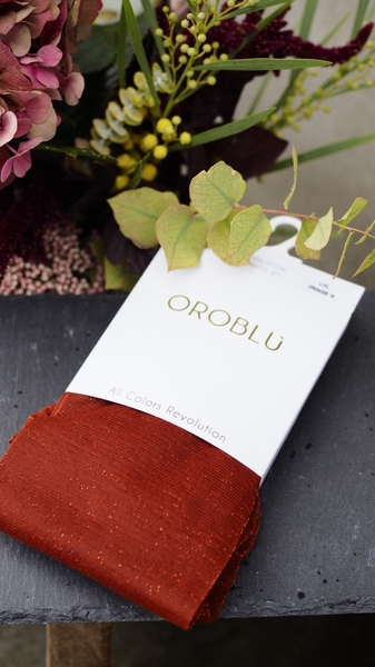 Bilde av Oroblu - Revolution Sparkle Tights - Orange
