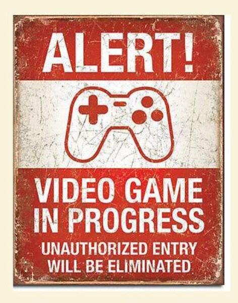 Bilde av Video game in progress