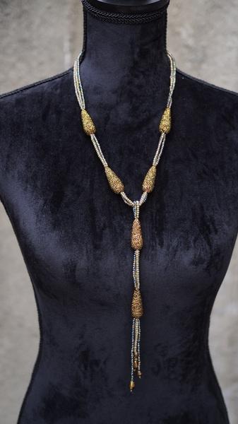 Bilde av Nectar - Baltazar necklace - Sparkling Cobber