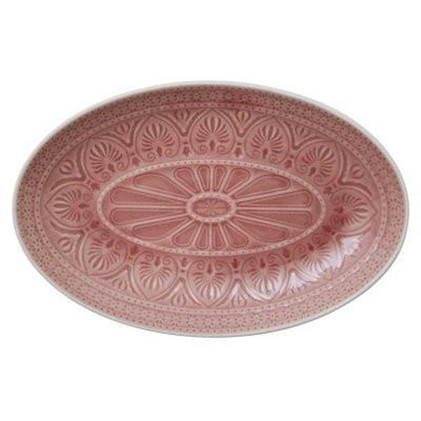 Bilde av Oval dish medium 19x29 Chloe Raspberry