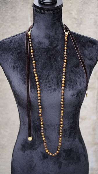 Bilde av Nectar - Upper East Side necklace - Cognac