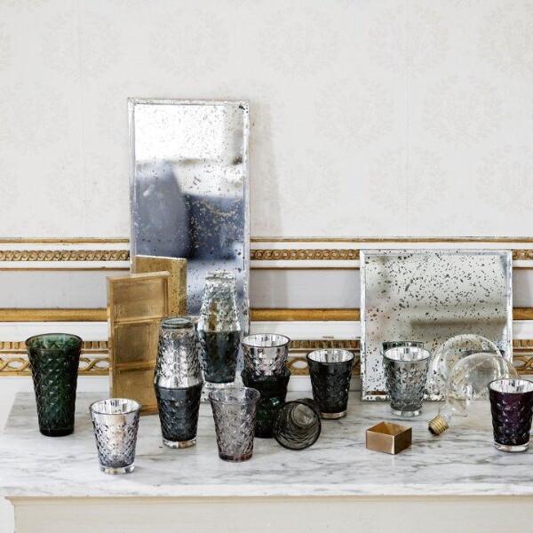 Bilde av TineK Home - Kvadratisk speil med antikk look