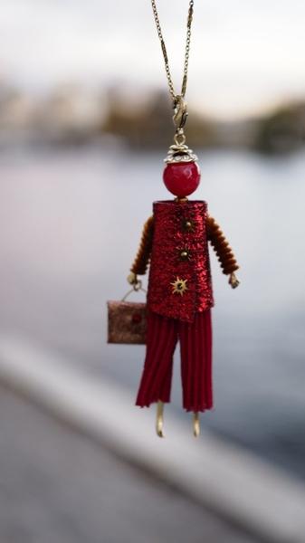 Bilde av Nectar - Ballerina  - Red pants Lady