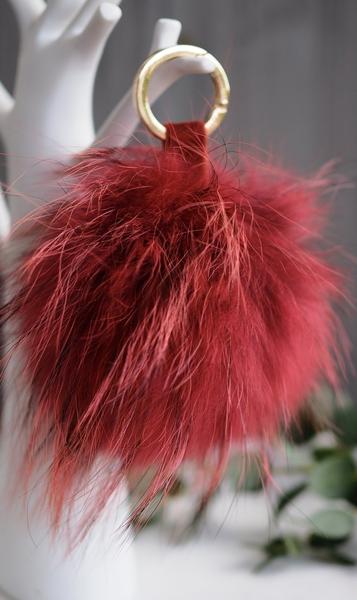 Bilde av Nectar - Fury Pom-pom Keychain Large - Red