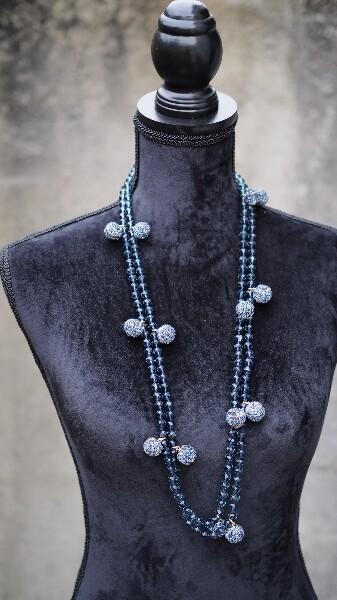 Bilde av Nectar - Soho necklace - Blue